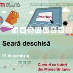 Seara deschisa 15 decembrie