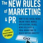 Cartea lunii de la CIM: The new rules of marketing and PR (5th edition)